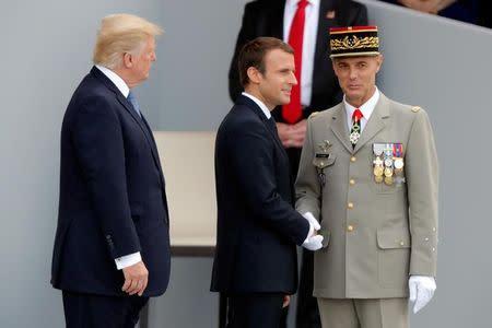 Bastille Day March Past Closes Trumps Paris Visit