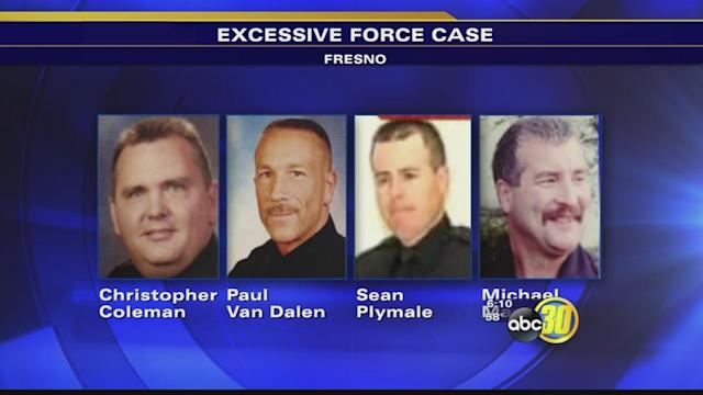 $1 million criminal retrial vs. Fresno police officers