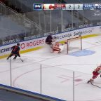 Connor McDavid with a Goal vs. Calgary Flames
