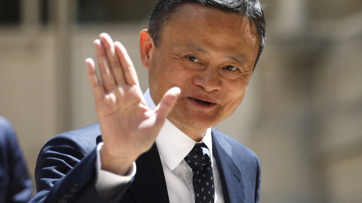 Jack Ma cashes out $9.6B from Alibaba