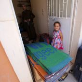 Children of Syria's besieged Daraya discover joy of sweets