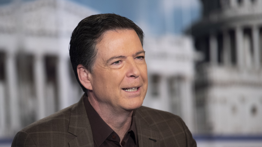 Comey said to be focus of Justice Dept. inquiry