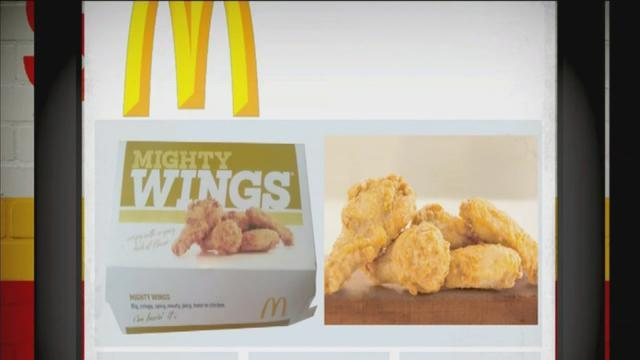 McDonald's adds chicken wings to its menu