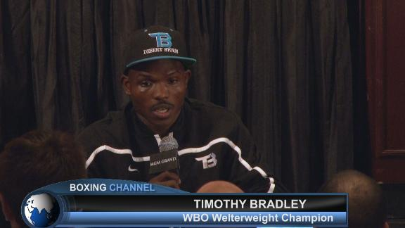 A very controversial win for Timothy Bradley