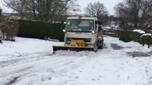 Gritter lorry saves the day and helps widow get to her husband's funeral