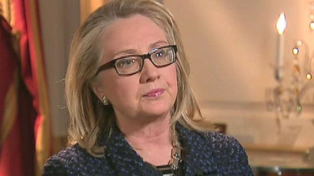 Clinton defends US presence in Benghazi