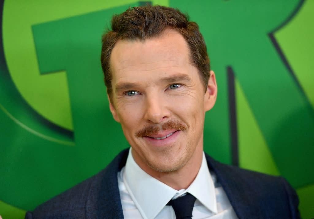 "Benedict Cumberbatch voiced ""The Grinch"""