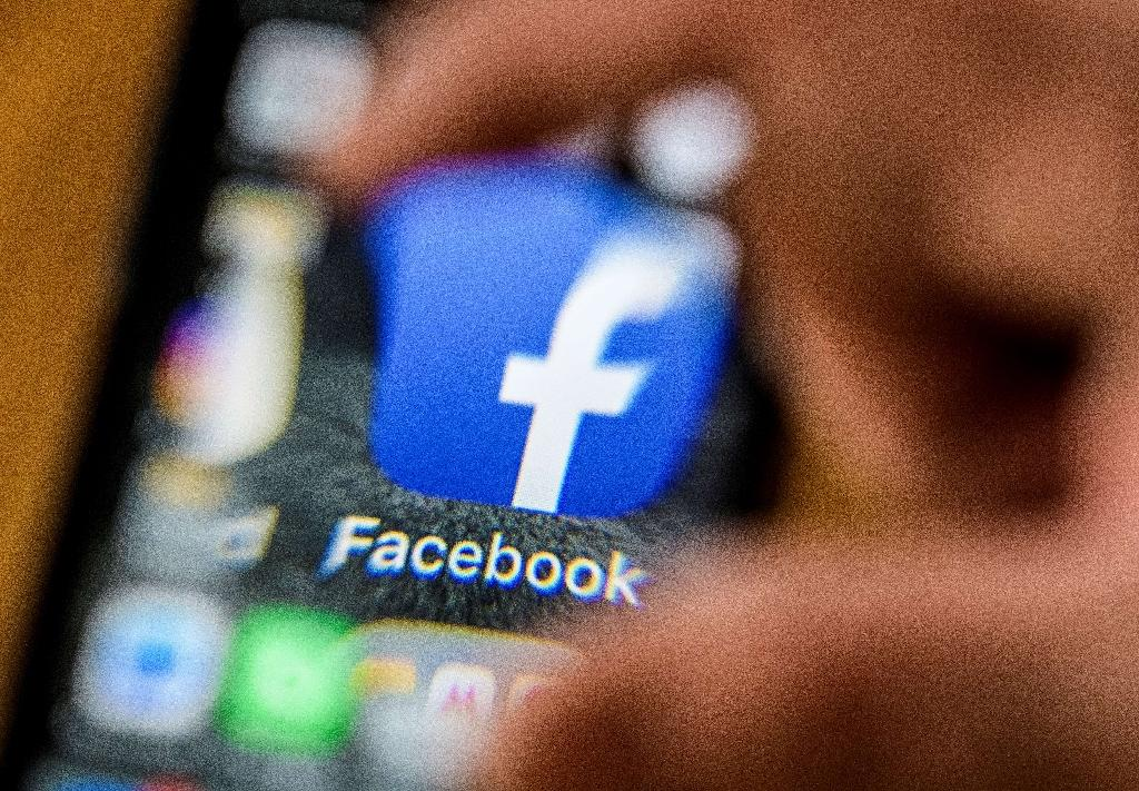 The Facebook digital currency Libra will live on smartphones and open up new services and money transfer options to people without bank accounts (AFP Photo/Mladen ANTONOV)