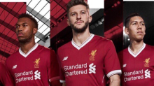 Liverpool unveil new Premier League kit and crest to mark club's 125th anniversary