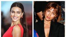 El impactante cambio de look (con truco) de Irina Shayk