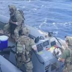 USS Monterey intercepts arms shipment in Arabian Sea