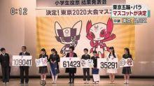 【有片】2020年東京奧運吉祥物決定 點睇呢兩位?