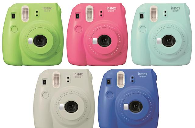 Fujifilm's Instax Mini 9 is colorful and selfie friendly