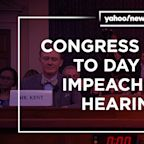Congress sounds off on first public impeachment hearing