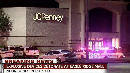 2 IEDs explode at Florida mall