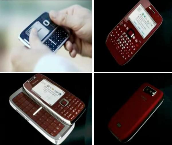 Nokia's E72 candybar and E75 slider with QWERTY keyboards leaked