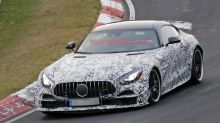 2019 Mercedes-AMG GT R that's even more hardcore spied at Nurburgring