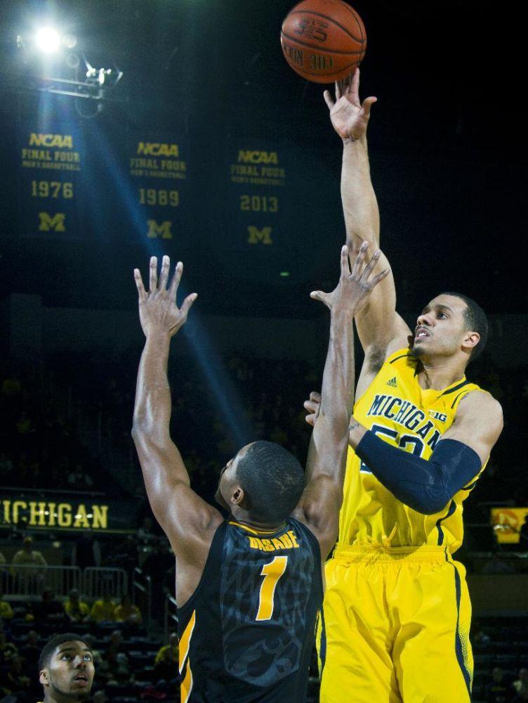 Morgan back in spotlight for Michigan