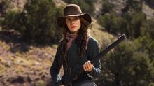 'Godless' first look: Michelle Dockery and Merritt Wever get their guns