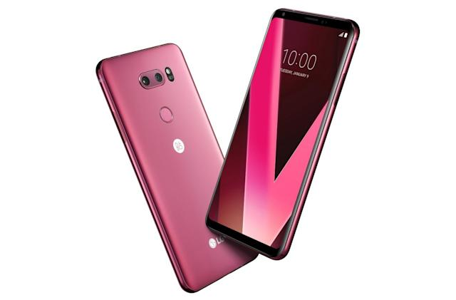 LG will launch a 'raspberry red' V30 at CES next week