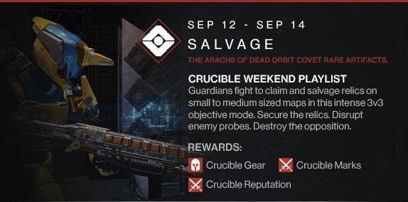 This weekend's Destiny event goes 3-vs-3 in the Crucible