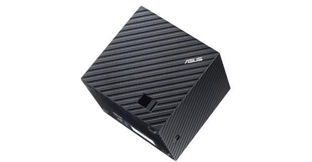 ASUS Qube announced at CES: Google TV arrives with on-screen cube interface
