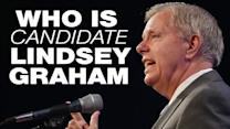 Who is presidential candidate Lindsey Graham?