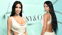 Kim Kardashian just wore a dress that reminds us of her wedding dress