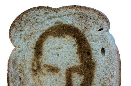 You can buy Steve Jobs on a piece of toast for $20 (yes, you read that correctly)