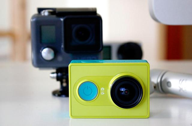 Xiaomi's affordable Yi action camera versus the GoPro Hero