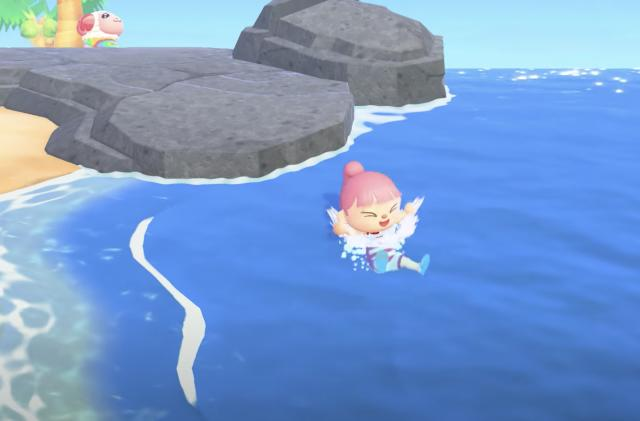 'Animal Crossing: New Horizons' adds swimming to its summer activities