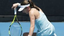 Lucky loser Pera sends ninth seed Konta out