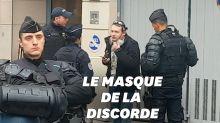 Le journaliste Rémy Buisine interpellé par la police lors de la manifestation à Paris