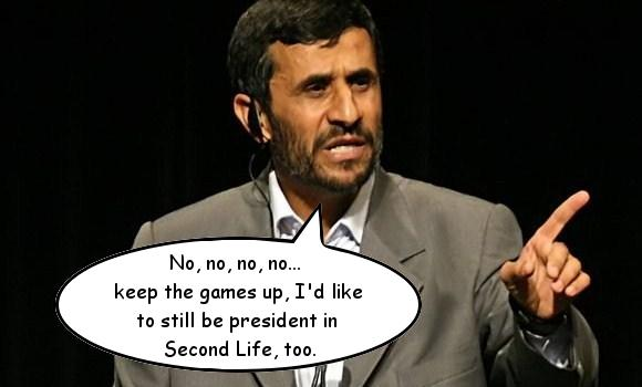 Iranian government blocking all online activity except gaming
