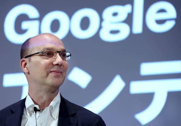 Android co-founder Andy Rubin is leaving Google