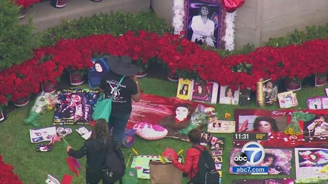 Michael Jackson fans mark 5th anniversary of his death