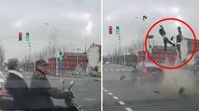 Horrific fatal crash sparks debate over who's at fault
