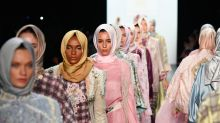 Indonesian Designer Showcases First All-Hijab Catwalk At NYFW