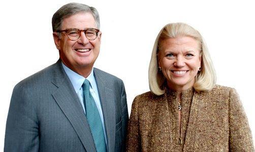IBM announces Virginia Rometty as new CEO