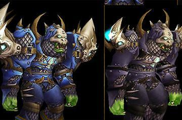 Small Orc shoulders official?