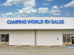 Dicor Chambr camping world and good sam celebrate grand opening of rv supercenter