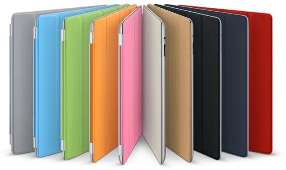 Apple announces Smart Covers for iPad