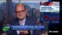 This analyst says Guggenheim's best idea is Anheuser Busch — Here's why