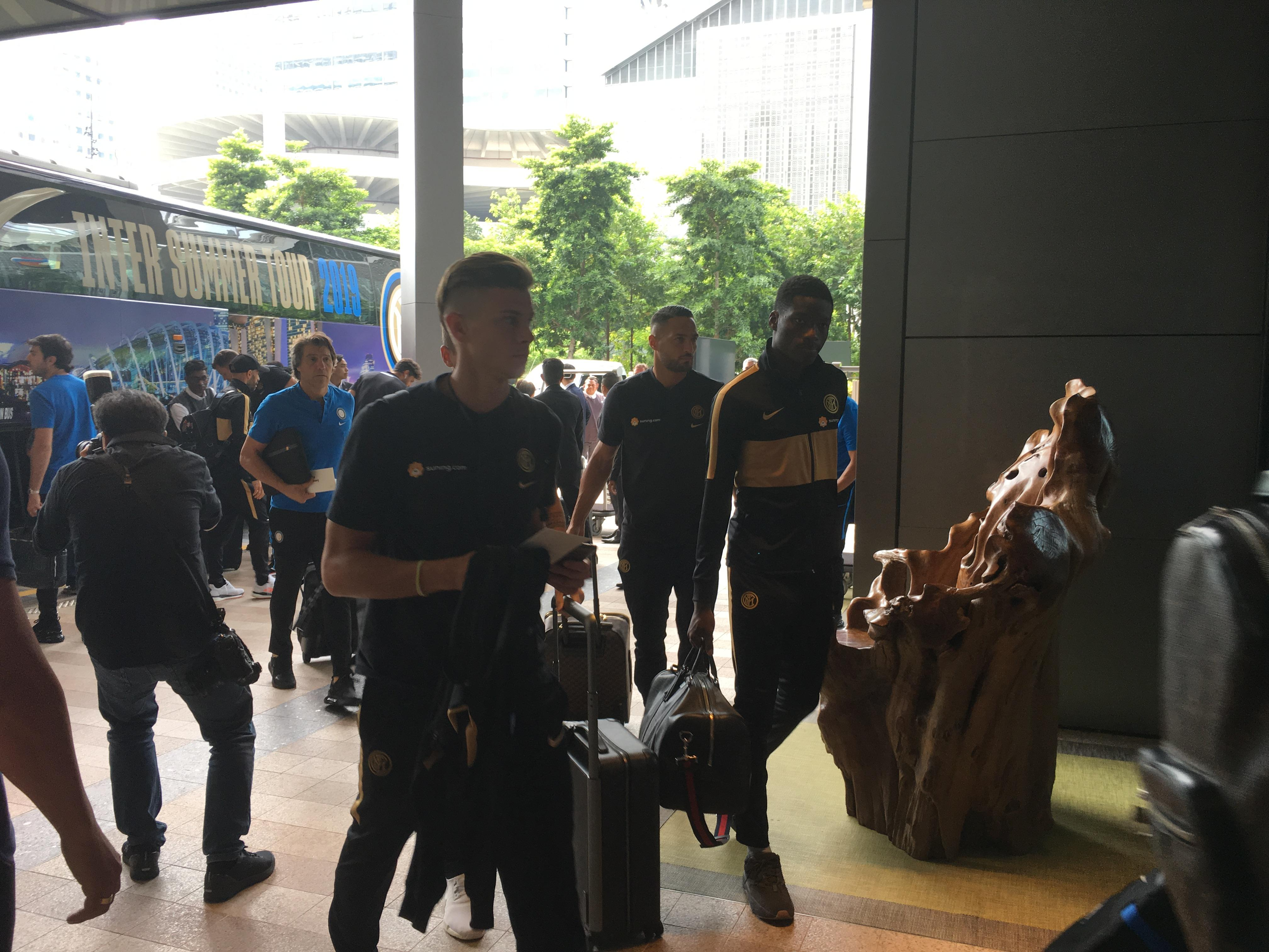Italian giants Inter Milan in Singapore for International Champions Cup
