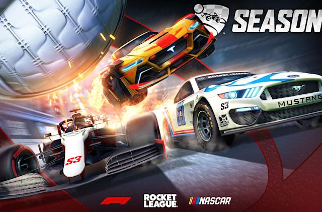 'Rocket League' season three will feature F1 and NASCAR vehicles