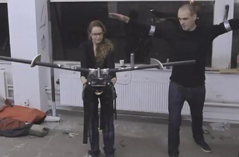 Human Birdwings combines Wiimote, smartphone in DIY flying initiative (video)