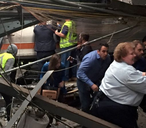 One dead, 108 hurt in New Jersey train crash: NJ governor