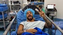 Maluma está hospitalizado; ¿qué le pasó?