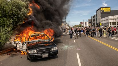 Protesters in L.A. have new targets: White and wealthy