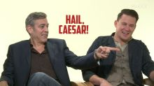 George Clooney Not Impressed With Josh Brolin's Pranking Skills